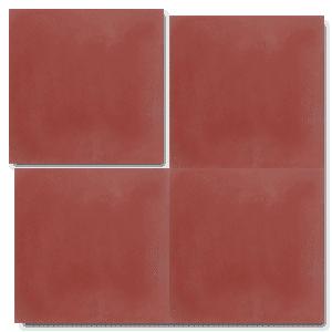 Single Colour Dark Red Concrete Tile Handmade Tiles Margate Concrete Tiles Elegant Tiles Concrete Tile Floor