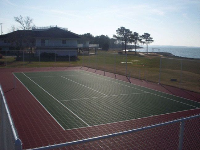 Incroyable Backyard Tennis Court