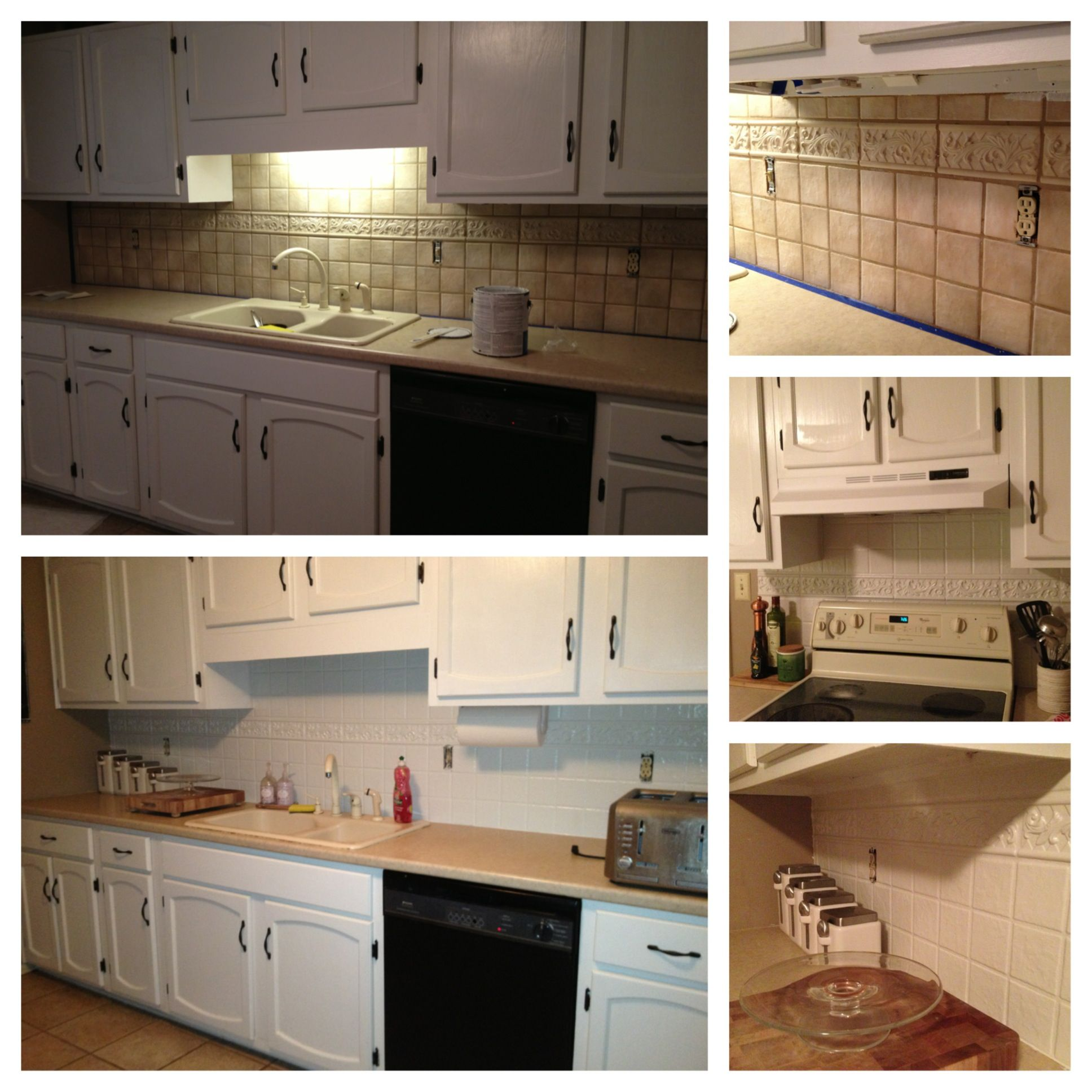Painting Tile Backsplash Kitchen Inspirations Backsplash Tile Design Home Repairs