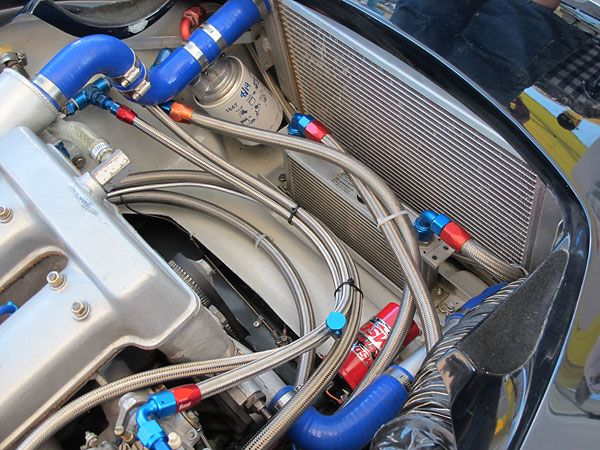 Afco Scirocco Style Single Pass Aluminum Radiator Mocal 13row