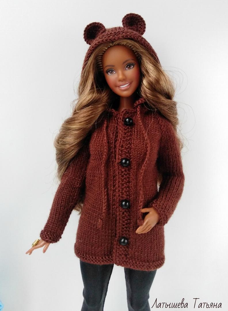 bonita_knit Вязание для кукол.   Вязание, Барби, Кардиган