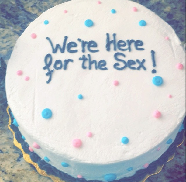 15 Outrageously Inappropriate Gender Reveal Cakes Photos Gender Reveal Cake Gender Reveal Photo Cake