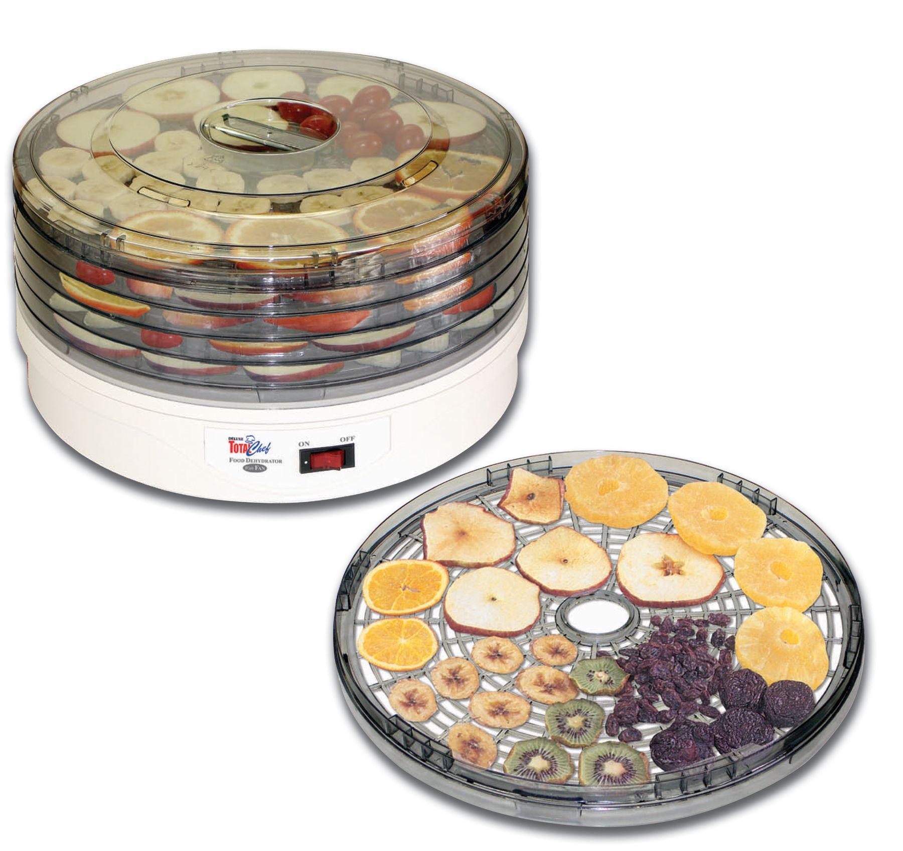 4997 total chef food dehydrator5 tray at walmartca