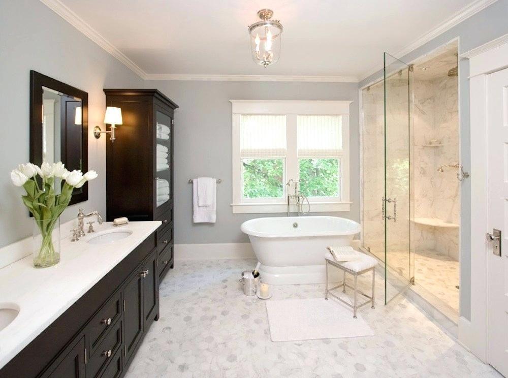 Master Bathroom Decor Ideas Examples Ideas Decor Newest White Master Bathroom Bathroom Remodel Master Master Bath Remodel
