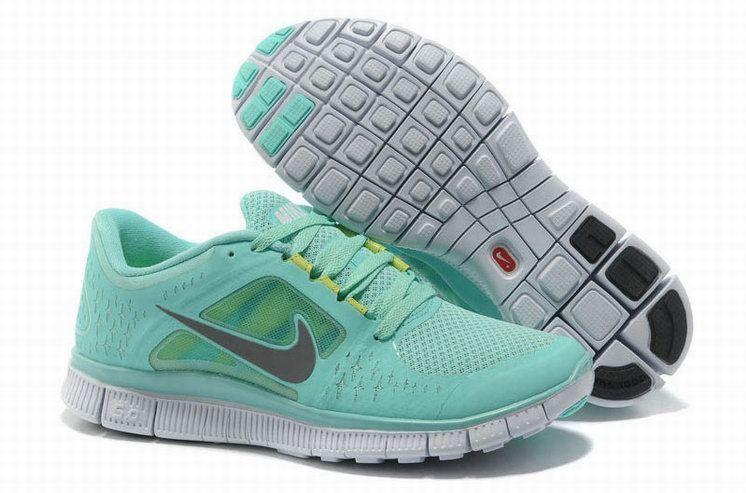 cheap for discount 88cd2 176cb Nike Free Run 3 Femme De Course Water Bleu à vendre pas cher