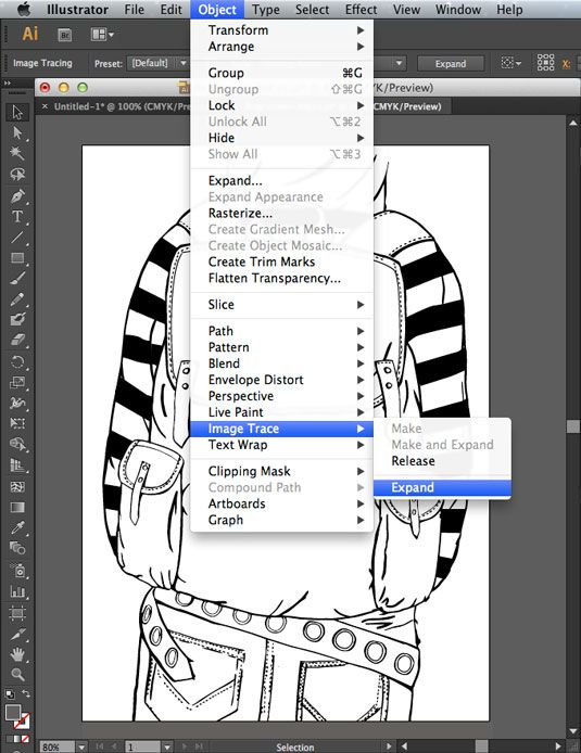 How to edit drawings in Illustrator with Image Trace   Adobe