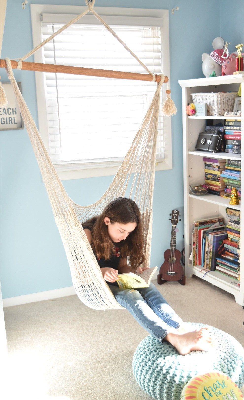 Tween Girl DIY Bedroom Decor Ideas #girlsbedroom