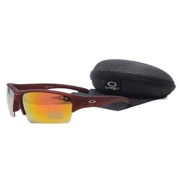 oakley flak jacket sunglasses pink orange iridium deep blue frames rh pinterest com