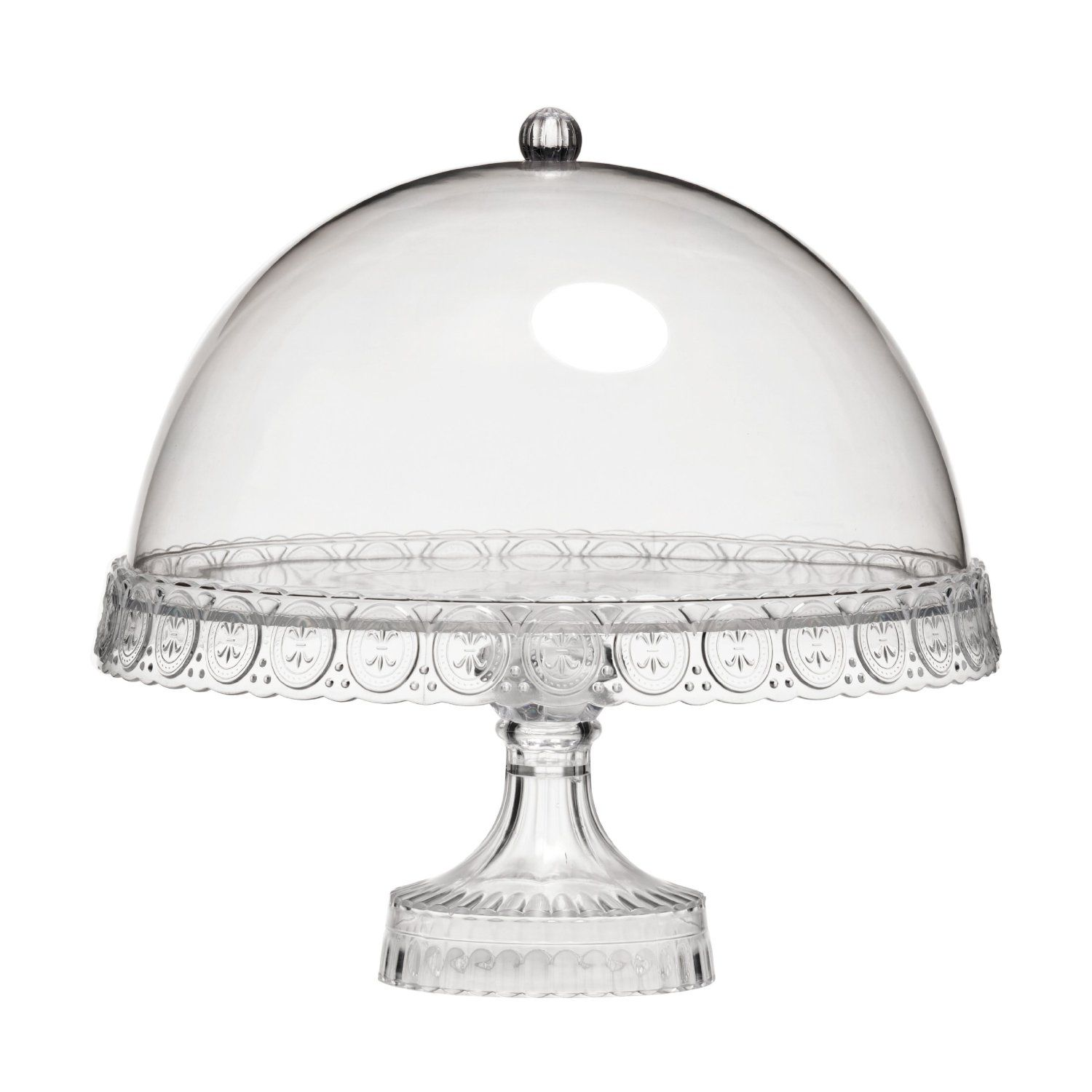 Premier Housewares Cake Stand with Dome Lid Amazon Kitchen