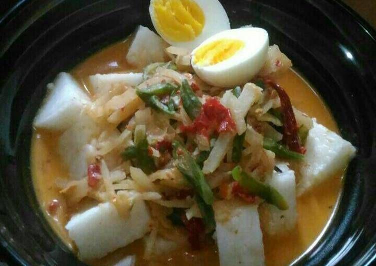 Resep Lontong Sayur Belinyu Bangka Oleh Sri Sudaryani Resep Resep Masakan Indonesia Makanan Makanan Dan Minuman