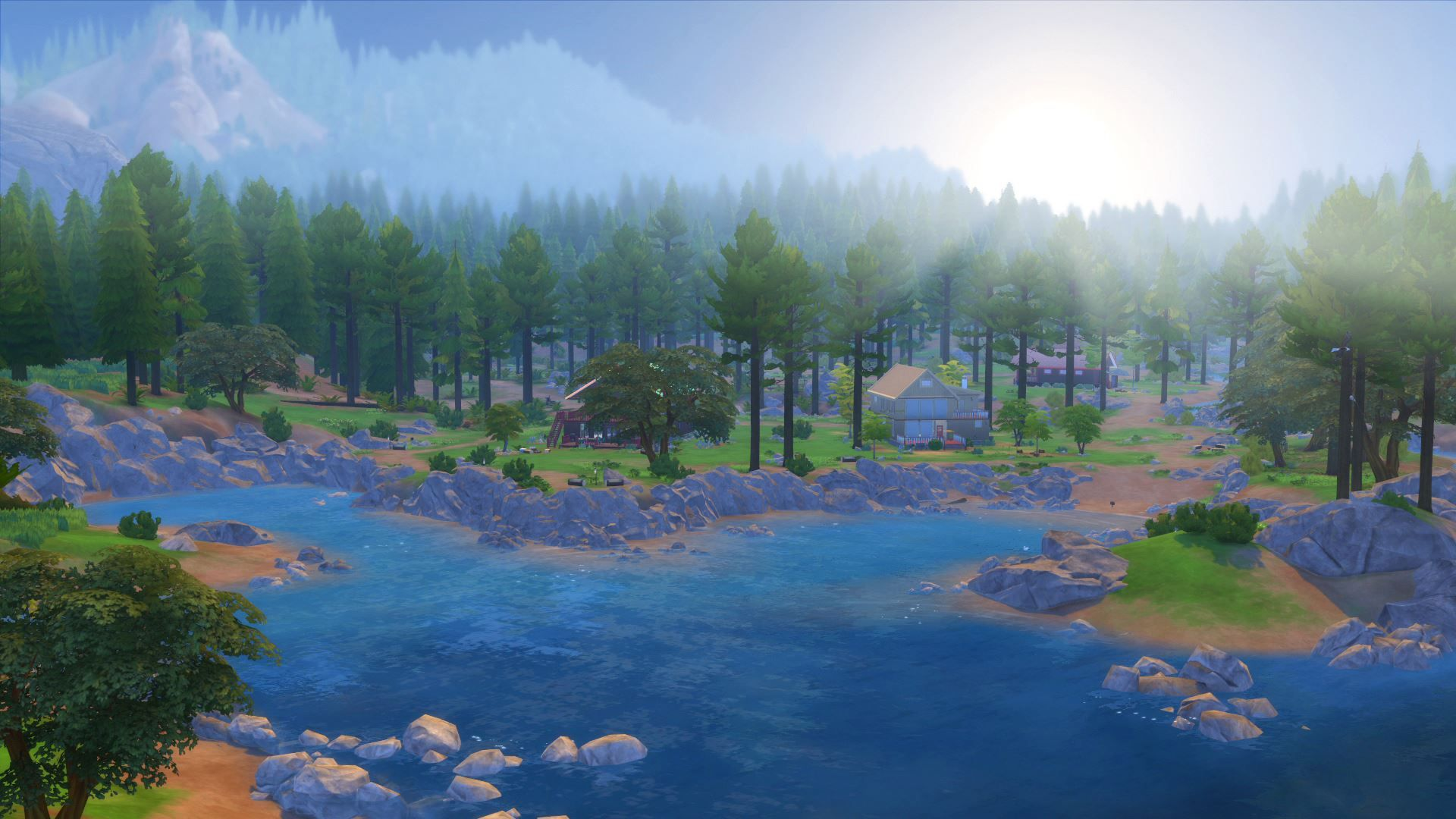 Granite Falls Lodge Sims 4 Speed Build Granite Falls Lodge Sims