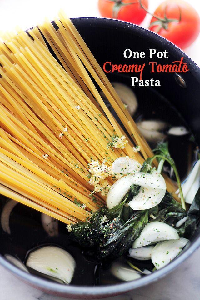 One-Pot-Creamy-Tomato-Pasta.jpg (640×960)