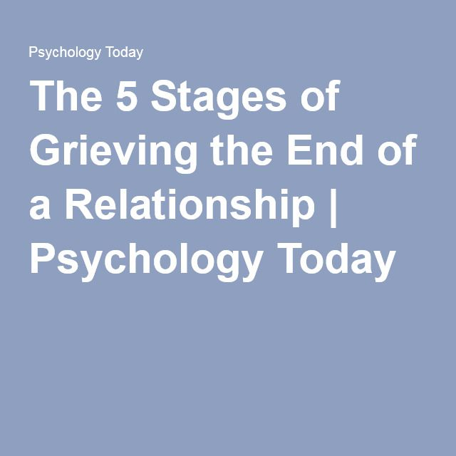 moving on from a relationship psychology today