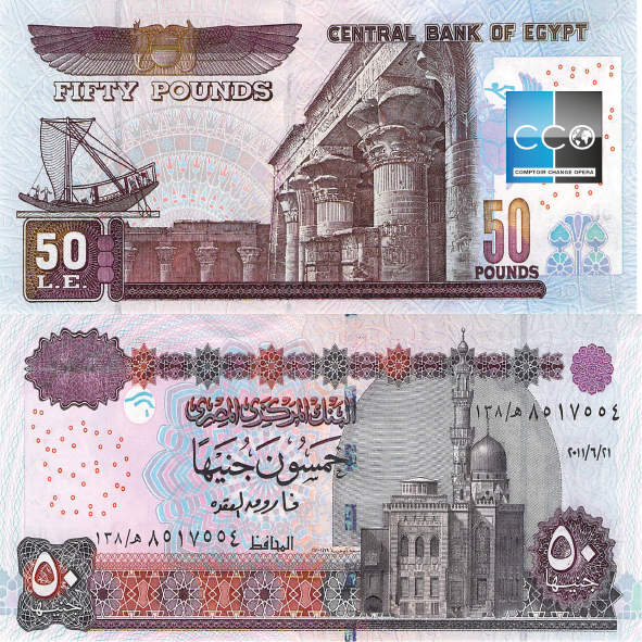 Epingle Par Comptoir Change Opera Sur Billets Egypte