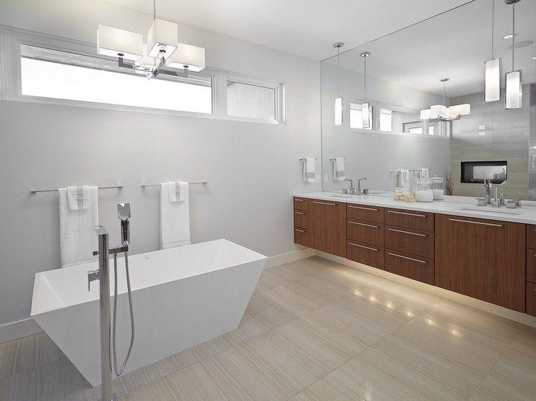 Badezimmer Deckenleuchte \u2013 53 Beispiele und Planungstipps