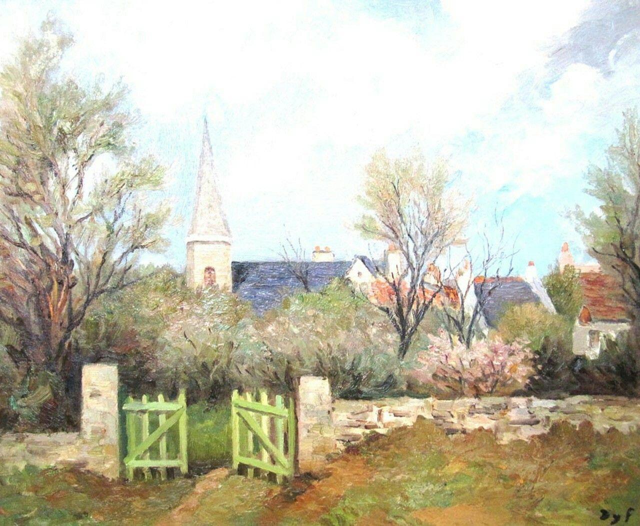 The Church Gate - Marcel Dyf