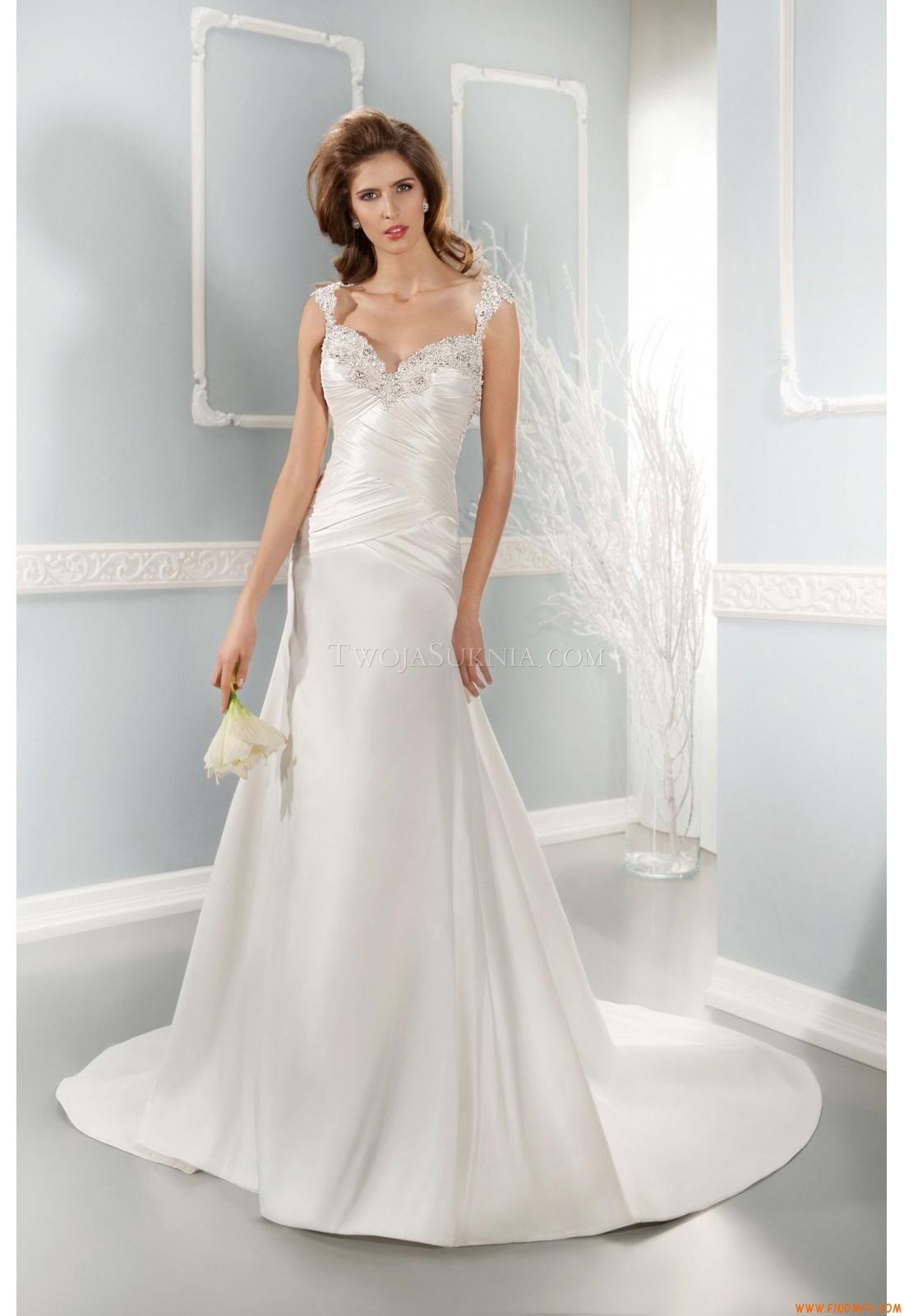 Vestidos de noiva Cosmobella 7647 2014