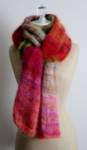 EmilyG1123's Color Play Mohair Wrap - Bird of Paradise