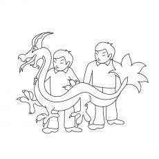 top 25 free printable dragon coloring pages online in 2020