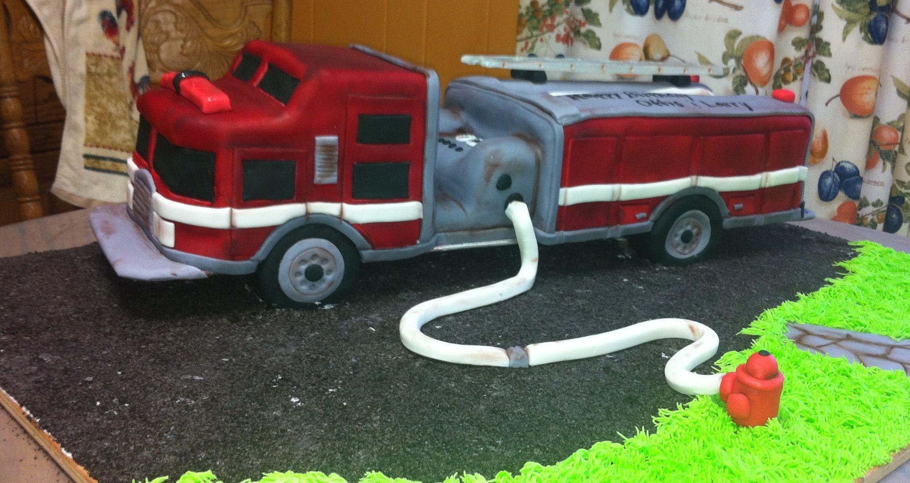 Firetruck cake fireman cake cake gallery firetruck cake
