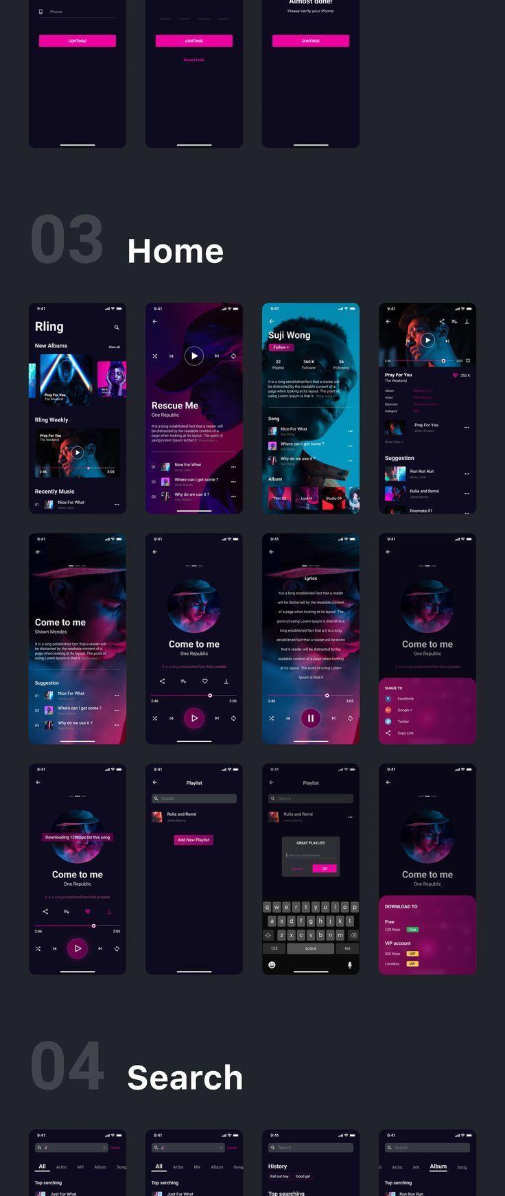 User Interface Inspiration Web Design