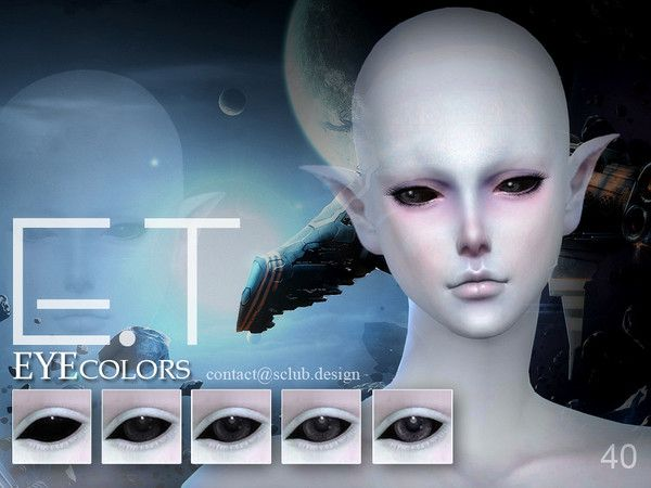The Sims Resource: Eyecolor 40 by S-Club • Sims 4 Downloads