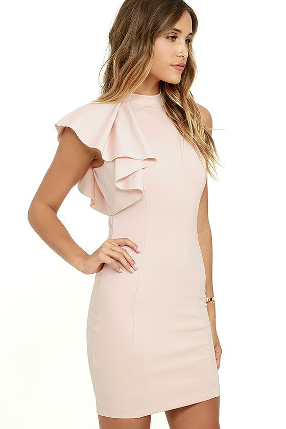 b5d3f7c038f0 In need of a little cocktail dress? Look no further than the Au Revoir  Blush…