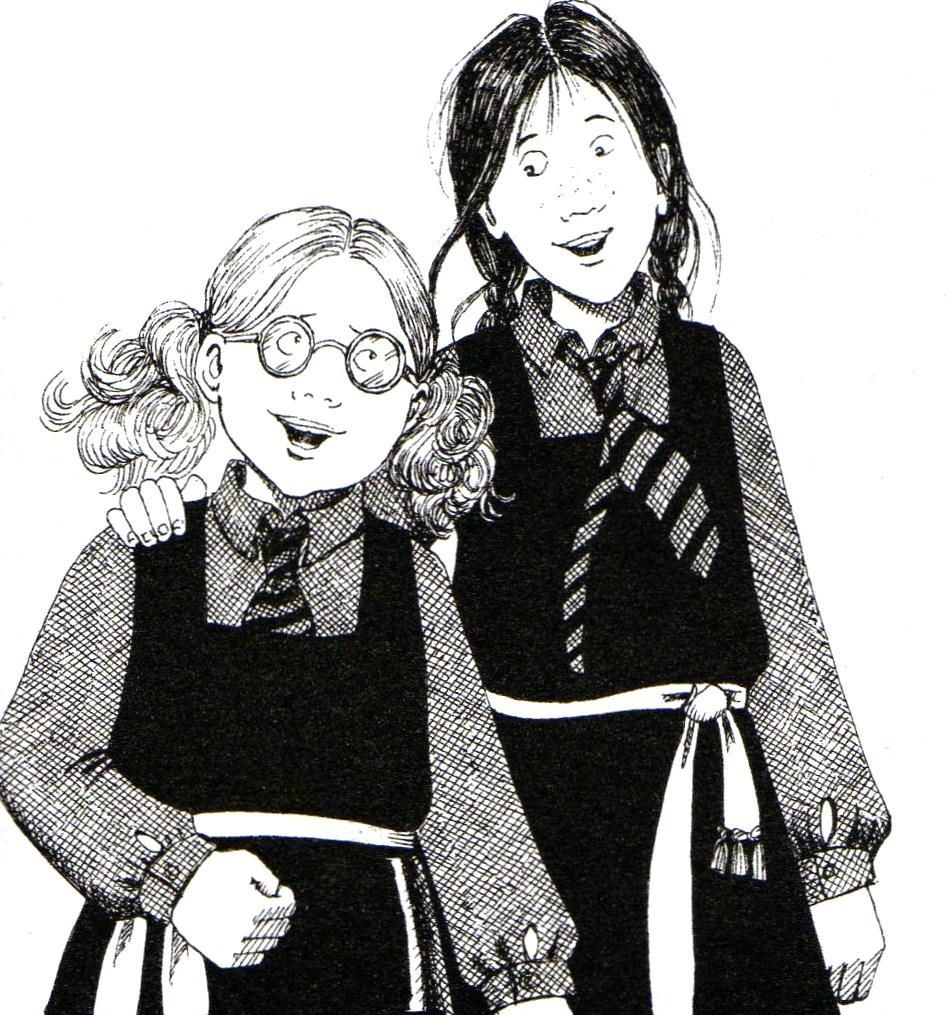 Worst Witch Mildred Hubble Black Silver White School Tie World Book Day