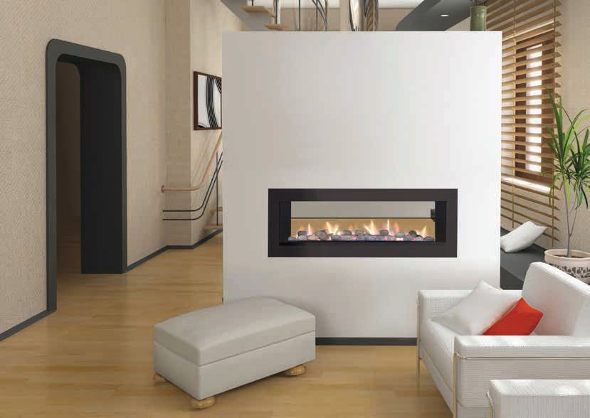 Likeness of Double Sided Gas Fireplace: Warmer, Unique Room ...