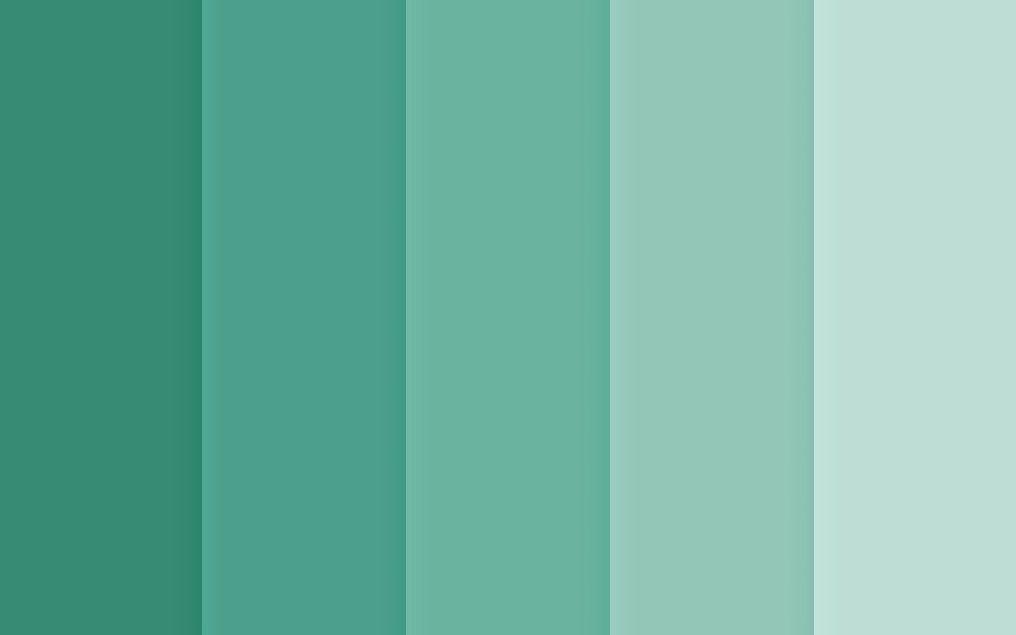 Color Tendencia En Decoración Paleta De Color Verde Colores De Pintura Verdes Gama De Colores Verdes