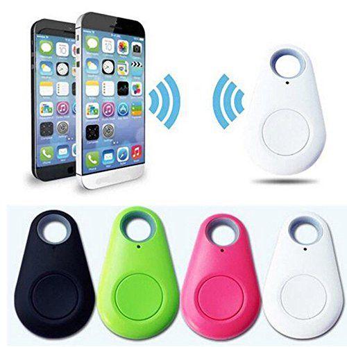 GPS Tracker Kids Pets Car Wallet Keys Alarm Locator Realtime Finder Anti-Lost Tracker,Blue