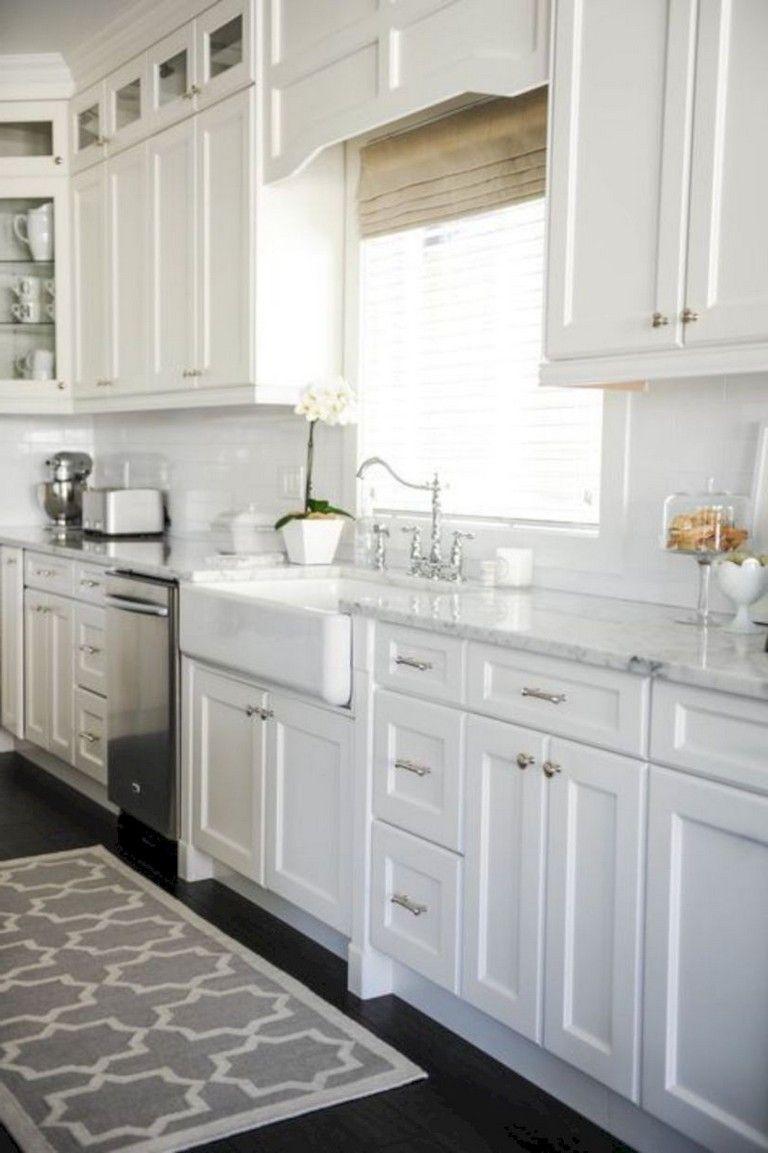 30 Top Kitchen Backsplashes Decor With Pros And Cons White Shaker Cabinets Kitchen Cabinet Design White Kitchen Design