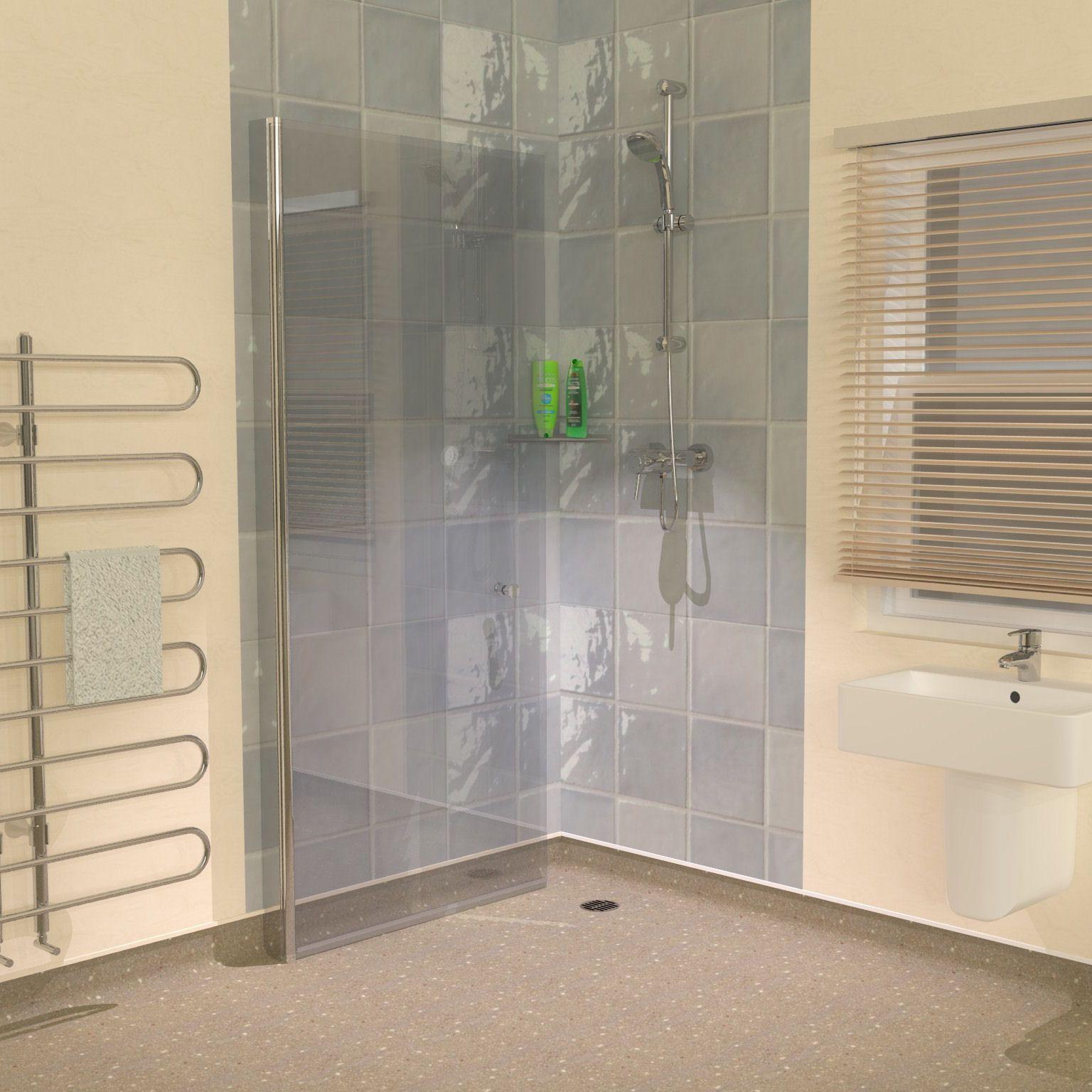 Vinyl Floor Hinged Screens Wet Room Shower Wet Room Shower Screens Vinyl Flooring