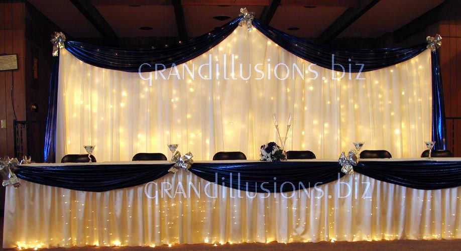 Idea For Head Table Just In A Diffe Colour Wedding Pinterest Tables Weddings And