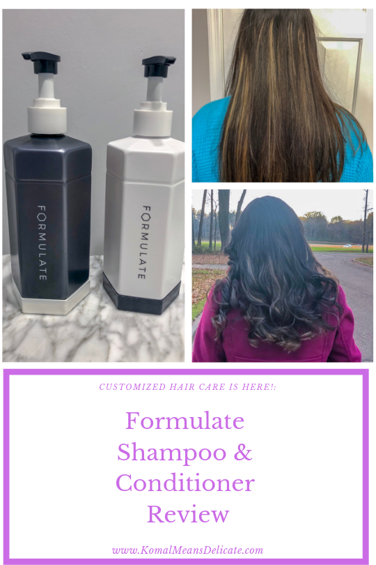 Customized Hair care is here! Formulate Shampoo