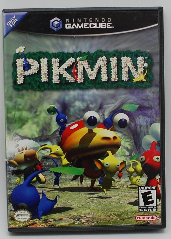 Pikmin Black Label Nintendo Gamecube 2003 Complete Gamecube Games New Video Games All Video Games