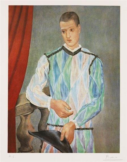 Pablo Picasso, Nach - Harlequin