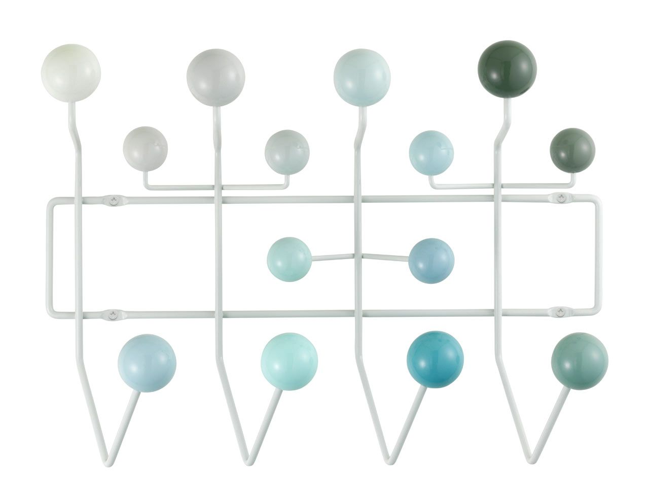 Hangitallbluevitra Coat Racks Charles Eames And Storage Ideas - Porte manteau eames
