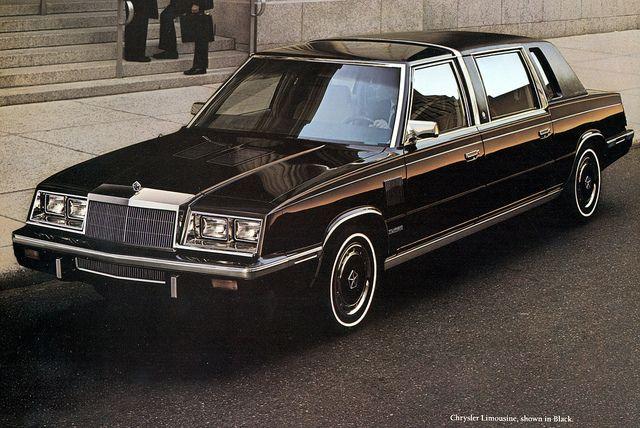 1986 Chrysler Limousine With Images Chrysler Limousine
