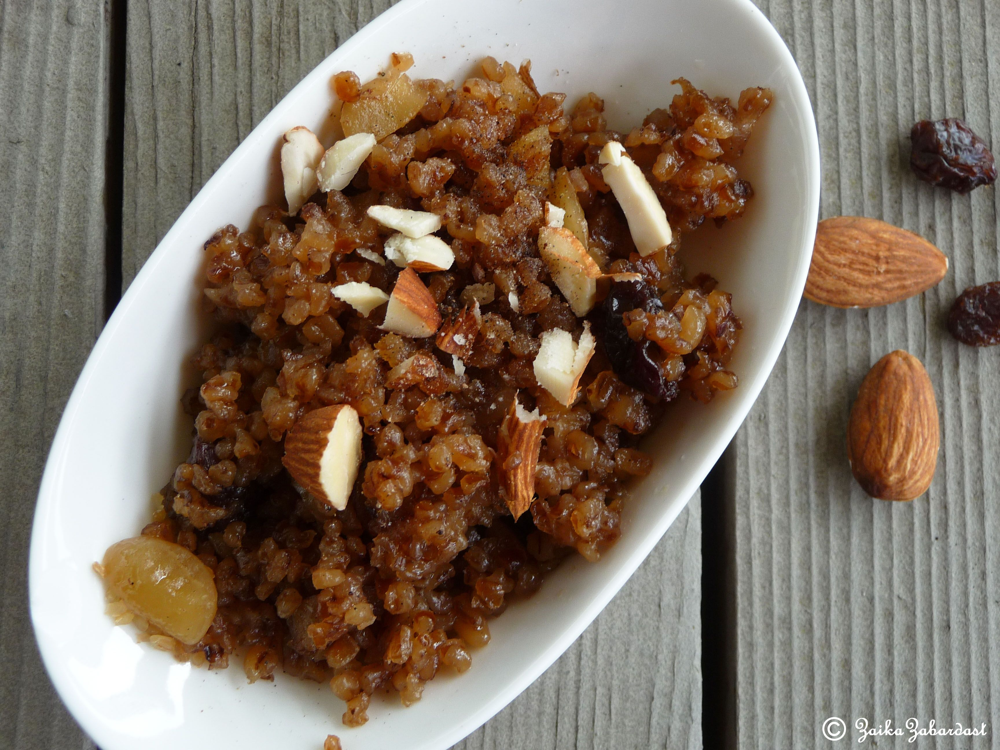 Step-by-step recipe for making kutia from wheat 1
