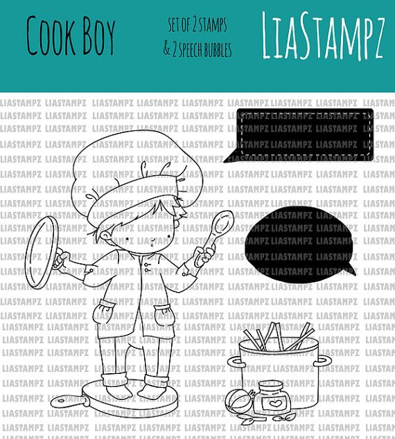Digital stamp cook boy set digital stamp in the kitchen stamp digital stamp cook boy set digital stamp in the kitchen stamp cute boy stamp recipe book cooking digi food stamp liastampz forumfinder Gallery