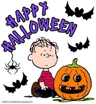 Peanuts Halloween Clipart