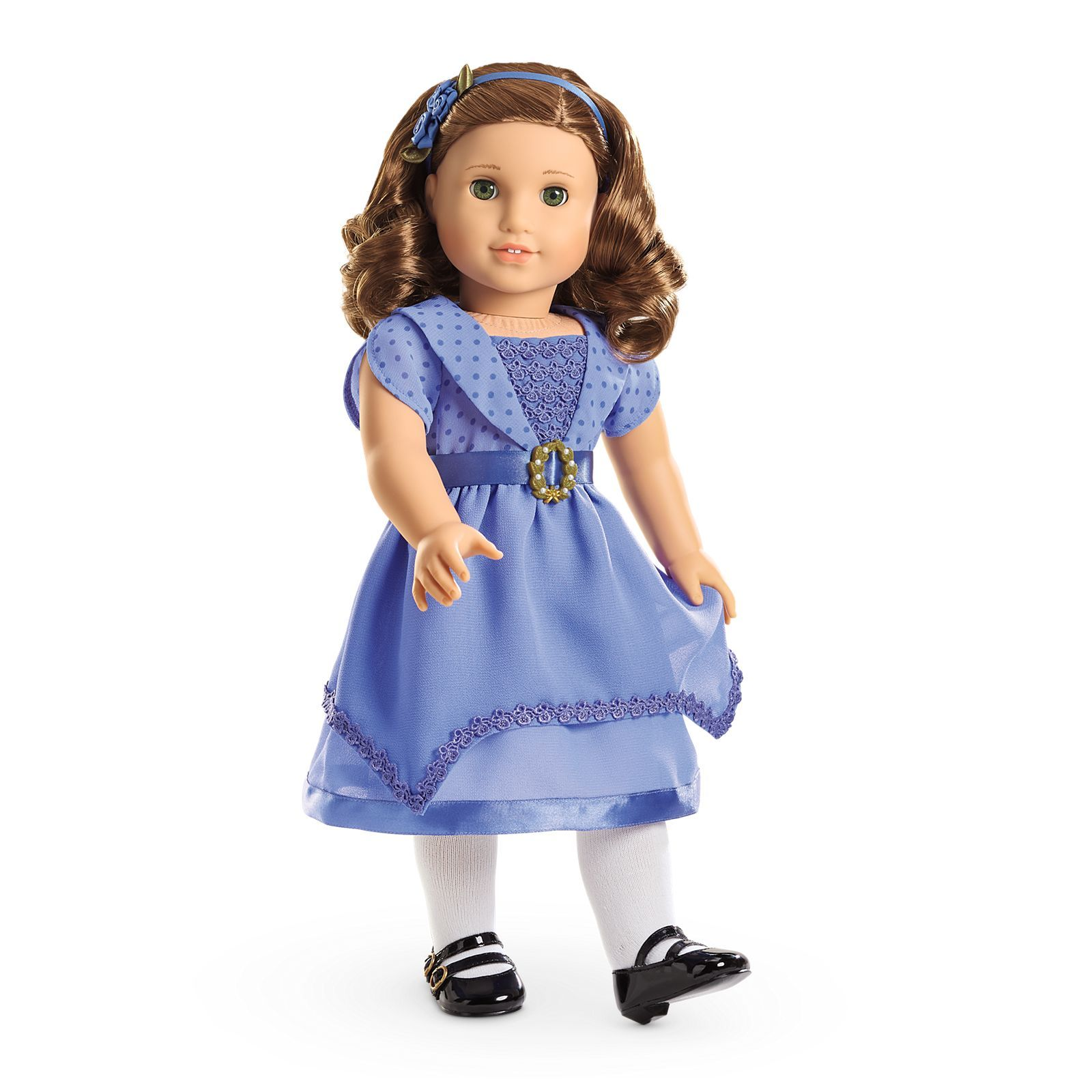 New American Girl Caroline/'s BeForever Meet Outfit SHOES Kit Rebecca Samantha