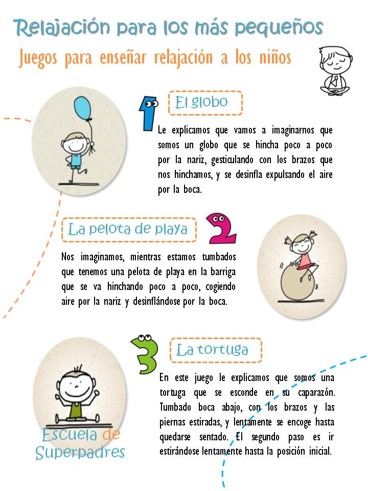 Juegos Para Ensenar Relajacion A Los Ninos Logopedia Pinterest