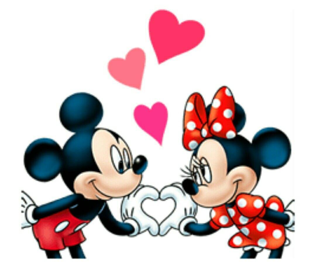 Mickey et Minnie   Dessin mickey, Mickey et mini, Fond d'écran ...