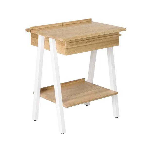 Szafka Nocna Troost Sposob Na Porzadek I Funkcjonalnosc W Sypialni White Bedside Table Bedside Cabinet Wooden Nightstand