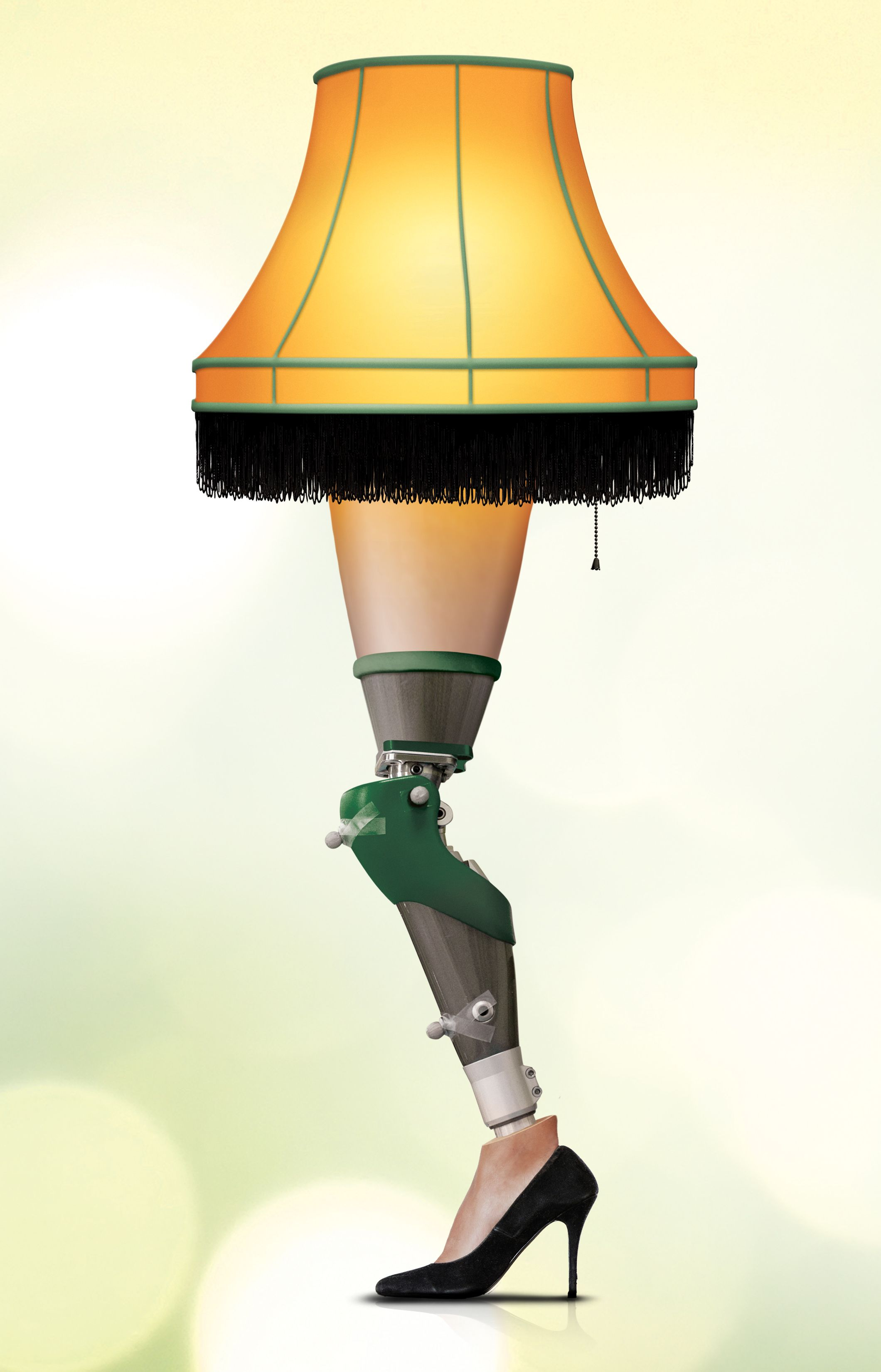Nothing says the holidays like a prosthetics leg lamp. Don\u0027t Stop ...