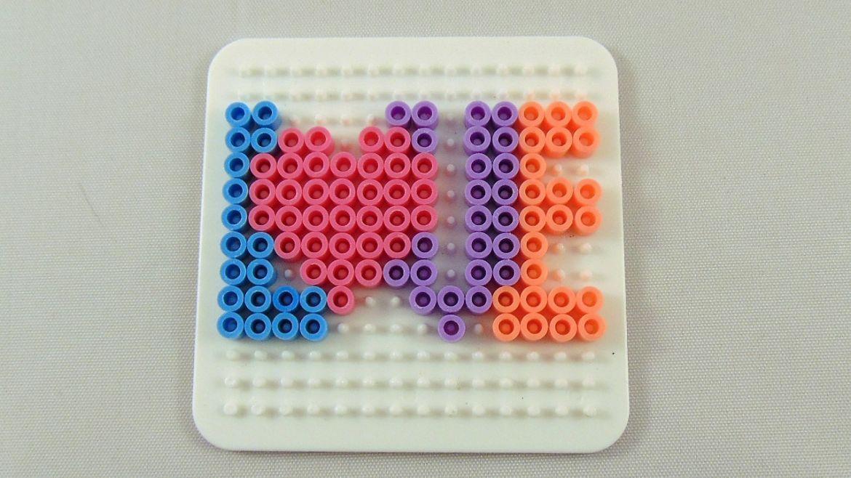 10 Easy Valentine Perler Bead Patterns Perler Board Melty Bead