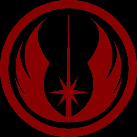 Jedi Civil War Star Wars Silhouette Star Wars Logos Symbols Star Wars Art
