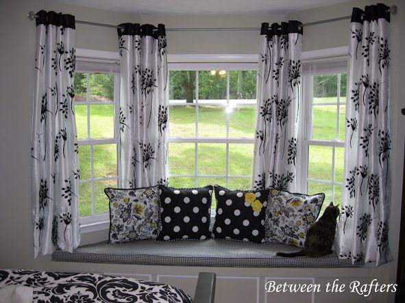 Short Curtains Square Bay Window Dining Room Curtains Living